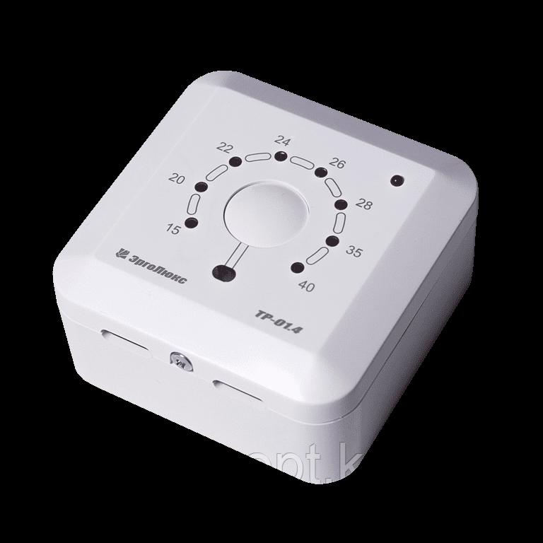 Накладной терморегулятор ТР-01.4ВП с датчиком пола и воздуха