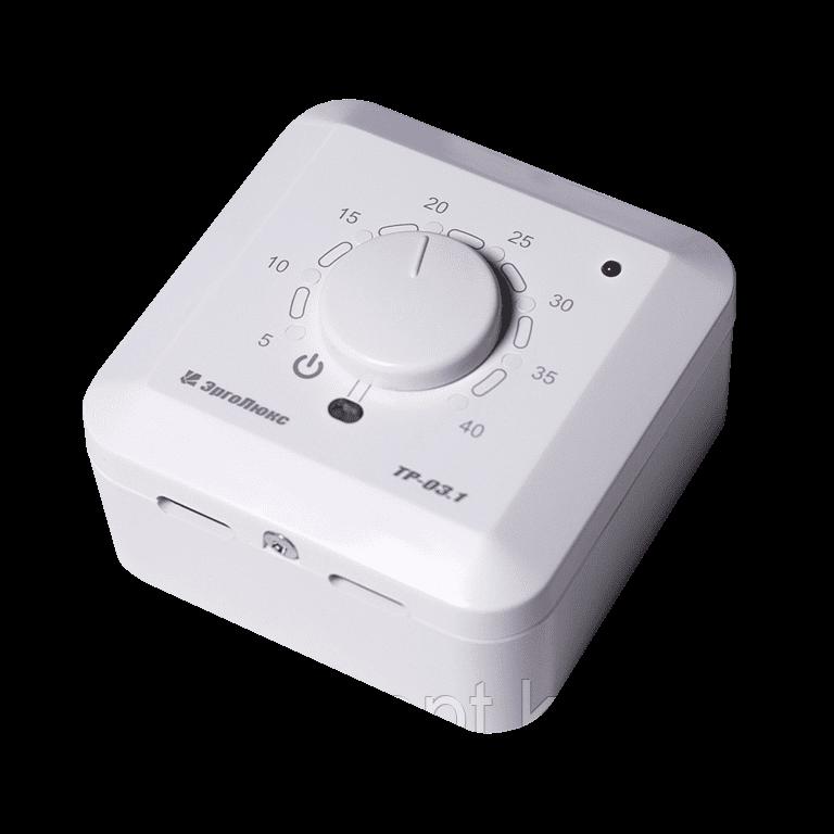 Накладной терморегулятор ТР-03.1ВП с датчиком пола и воздуха