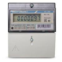 Счетчик электроэнергии однофазный однотарифный Энергомера CE200 R5.1 145