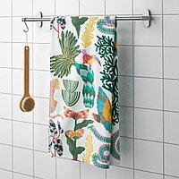 ГРЮККАН Банное полотенце, разноцветный, 70x140 см