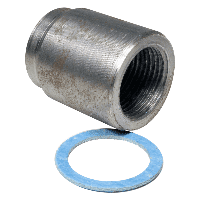 Бобышка 35 мм М20х1,5 прямая, Термотроник