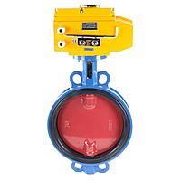 Затвор дисковый поворотный Tecofi VPI4448 (Ду40 с электроприводом 220В)