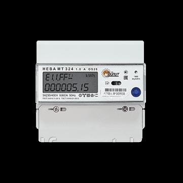 Счетчик электроэнергии НЕВА МТ 324 1.0 AO S26