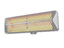 Электрический инфракрасный обогреватель BIH-LW 2 (1,5)