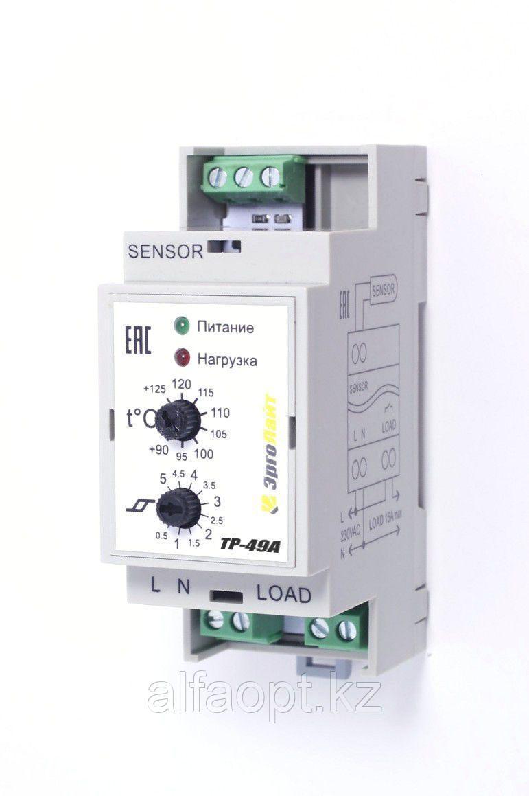 Терморегулятор ТР-49А (+90°С …+125°С, гист. 0,5…5°С)