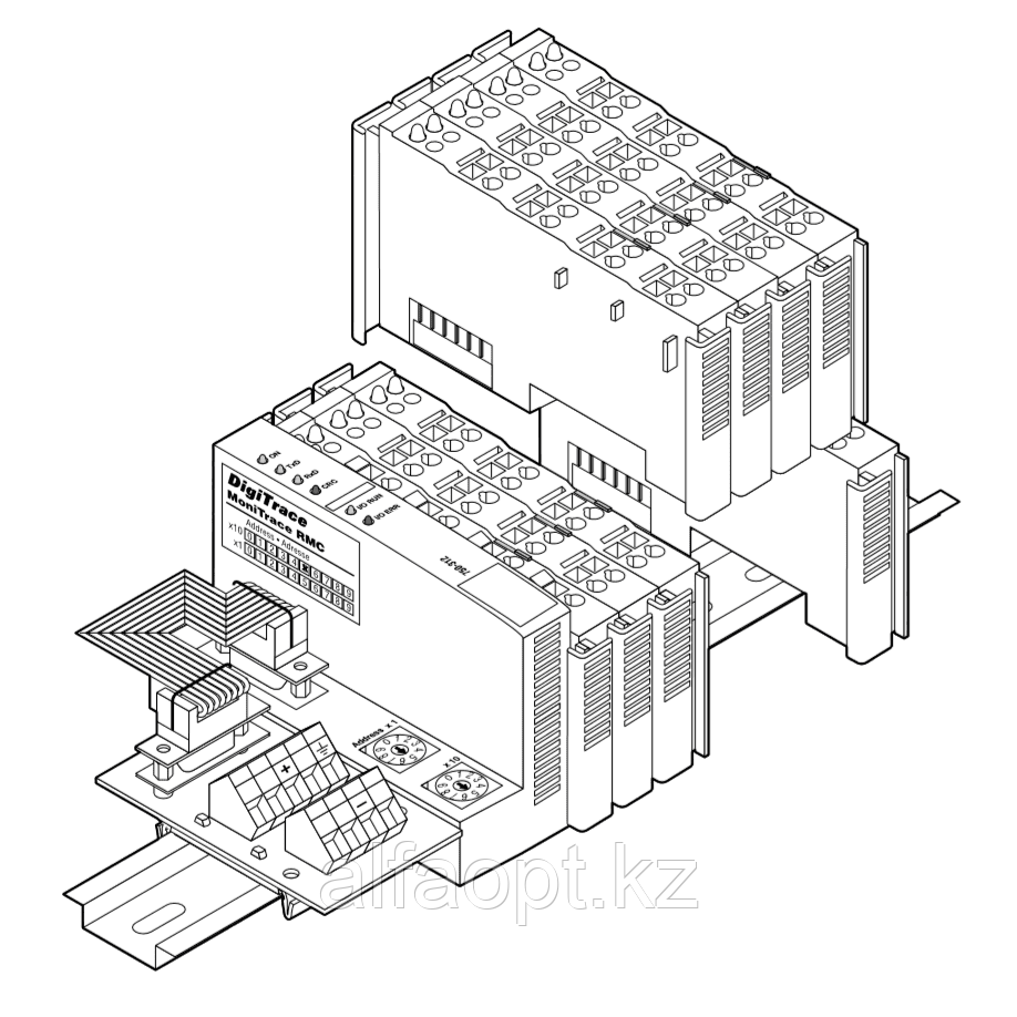 Двухканальный модуль управления системы удаленного контроля MONI-RMC-2RO