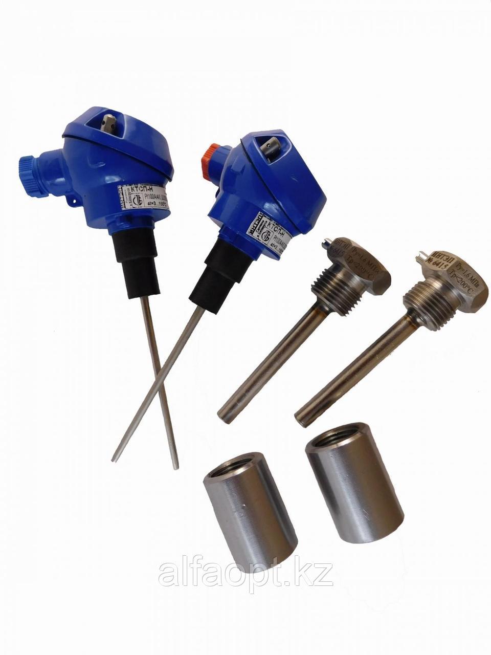 Согласованная пара термопреобразователей сопротивления (с гильзами и бобышками) L120