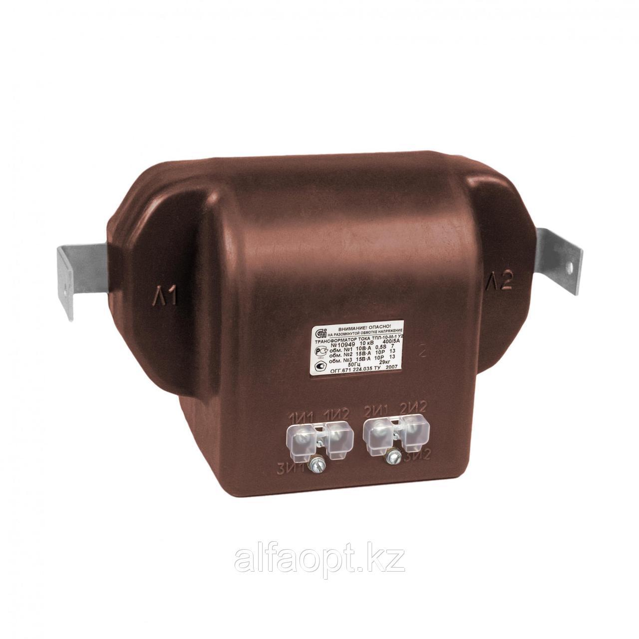 Проходной трансформатор тока ТПЛ 10-М-0,5/10Р-100/5 У2