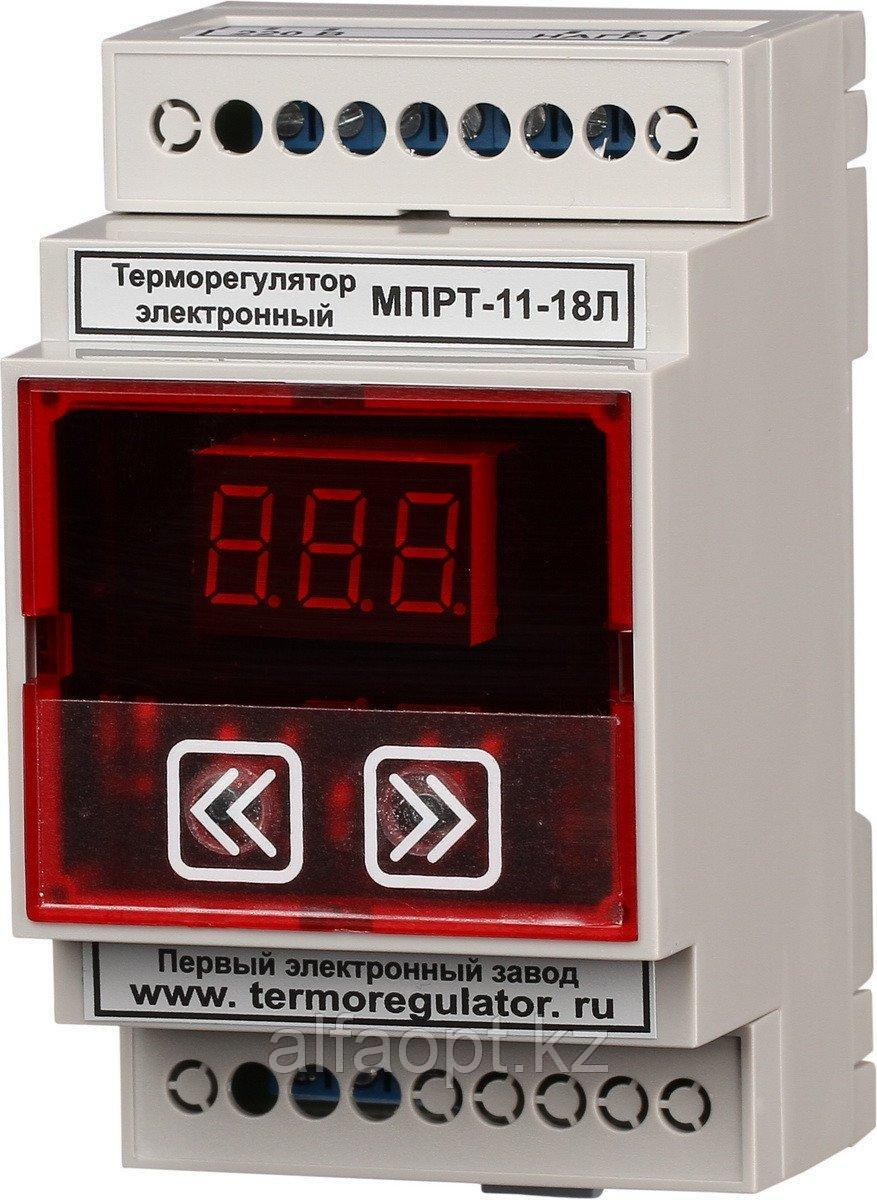 Терморегулятор МПРТ-11-18Л 1 кВт цифровое управление защита от сухого хода  DIN