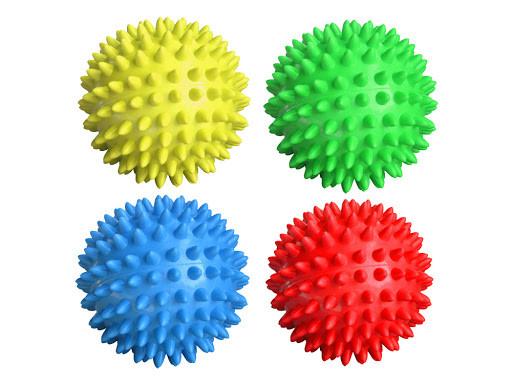 Массажный игольчатый мяч (с шипами), 9 см
