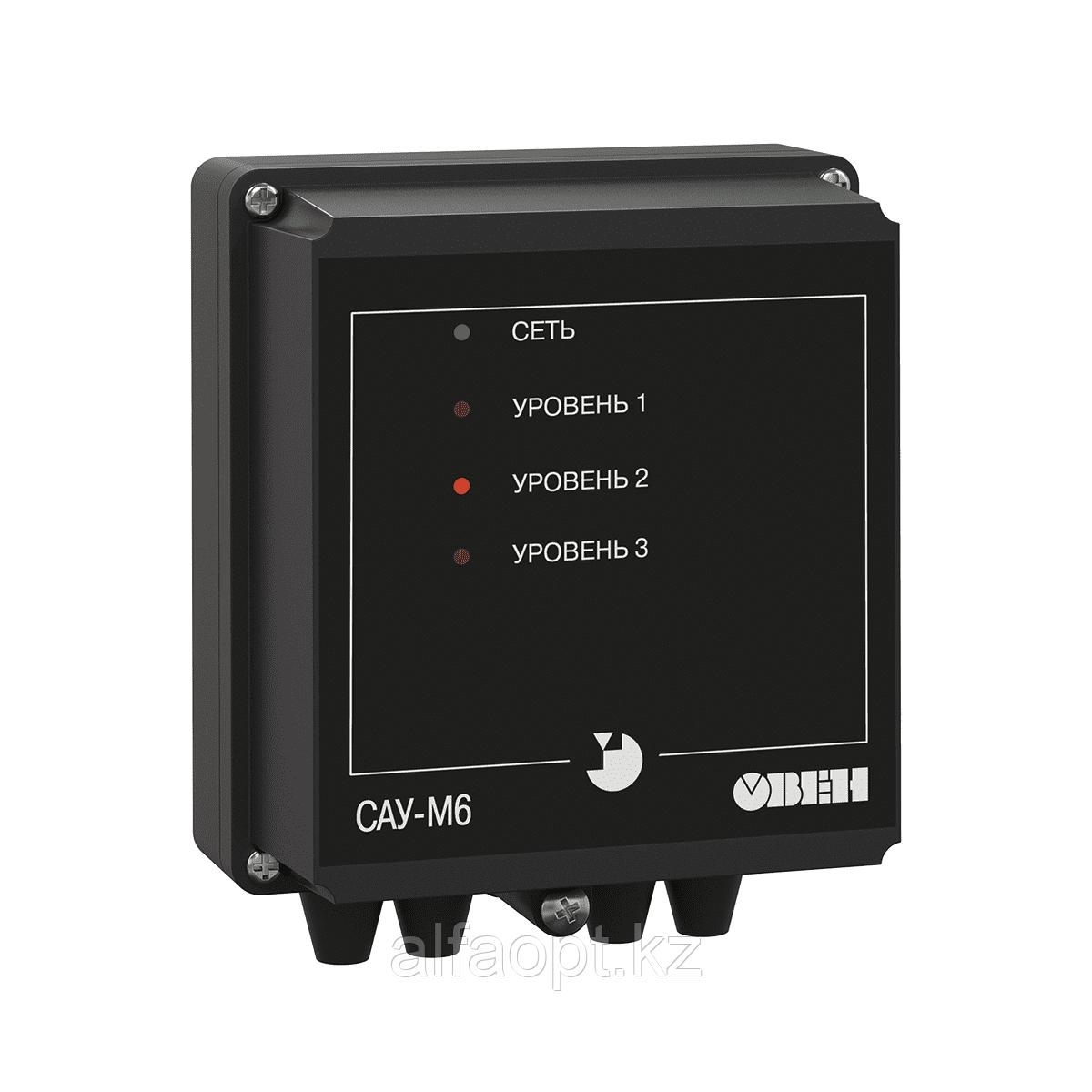 Трехканальный сигнализатор уровня жидкости САУ-М6