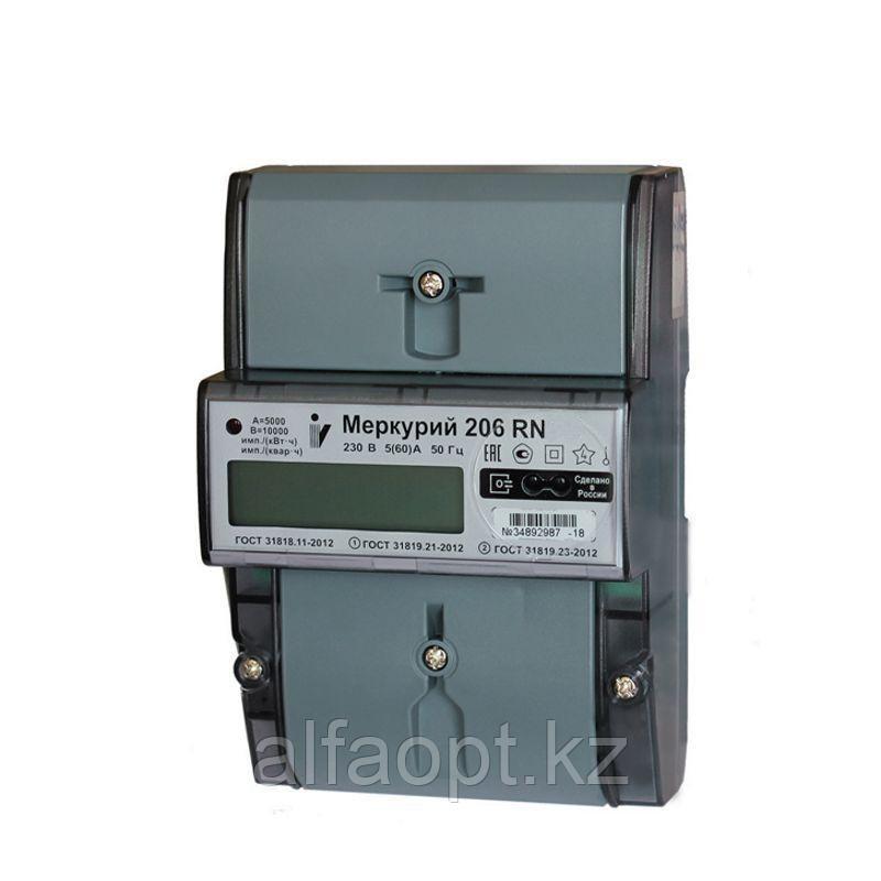 Счетчик электричества Меркурий 206 PLNO
