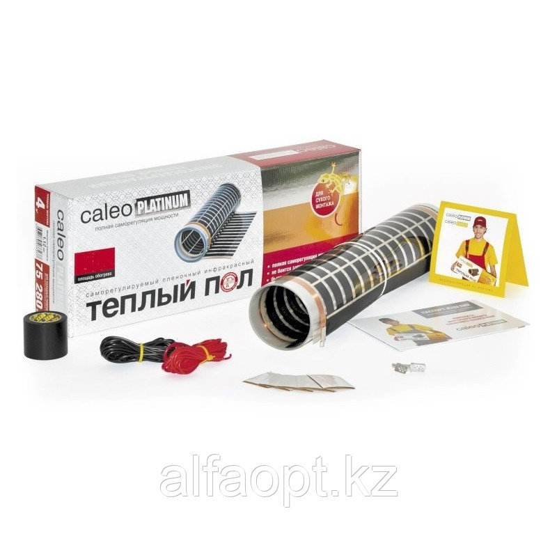 Комплект плёночного тёплого пола Caleo Platinum 50/230-0,5-4,0