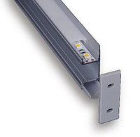 Led профиль 49*17мм, алюминиевый анодированный C053