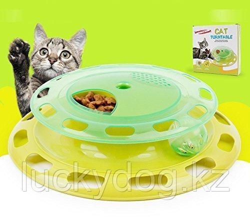 Интерактивная игрушка для кошек Cat Turntable
