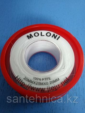 Лента ФУМ 19мм*0,2мм*25м Moroni, фото 2
