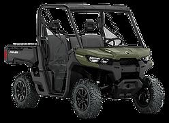 Мотовездеход BRP Can-Am Traxter DPS HD8 800 Зеленый 2019 INT