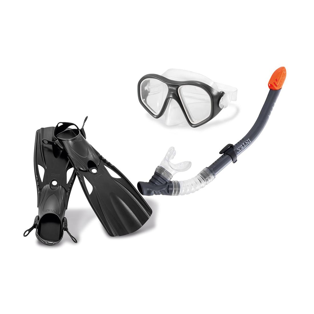 Набор для плавания INTEX Reef Rider Sports Set 14+ 55658 (Black)