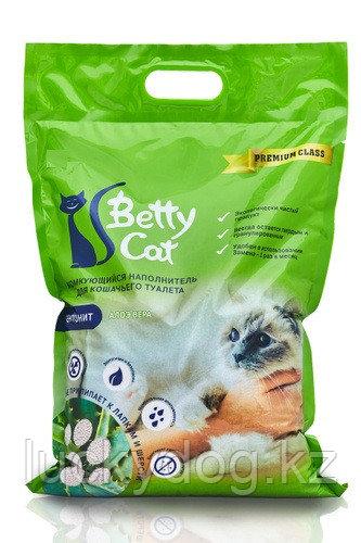 Betty Cat 25л, Алое Вера комкующийся наполнитель, 20кг