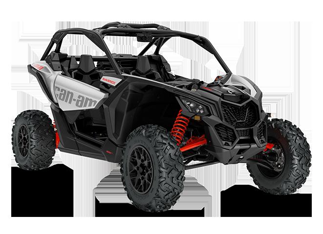 Мотовездеход BRP Can-Am Maverick Turbo STD 900 Серебристо-красный 2020 INT