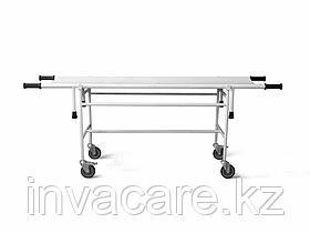 Тележка для перевозки больных со съемной панелью ТБС-01-«Ока-Медик»(без регулируемой головной секции, колеса