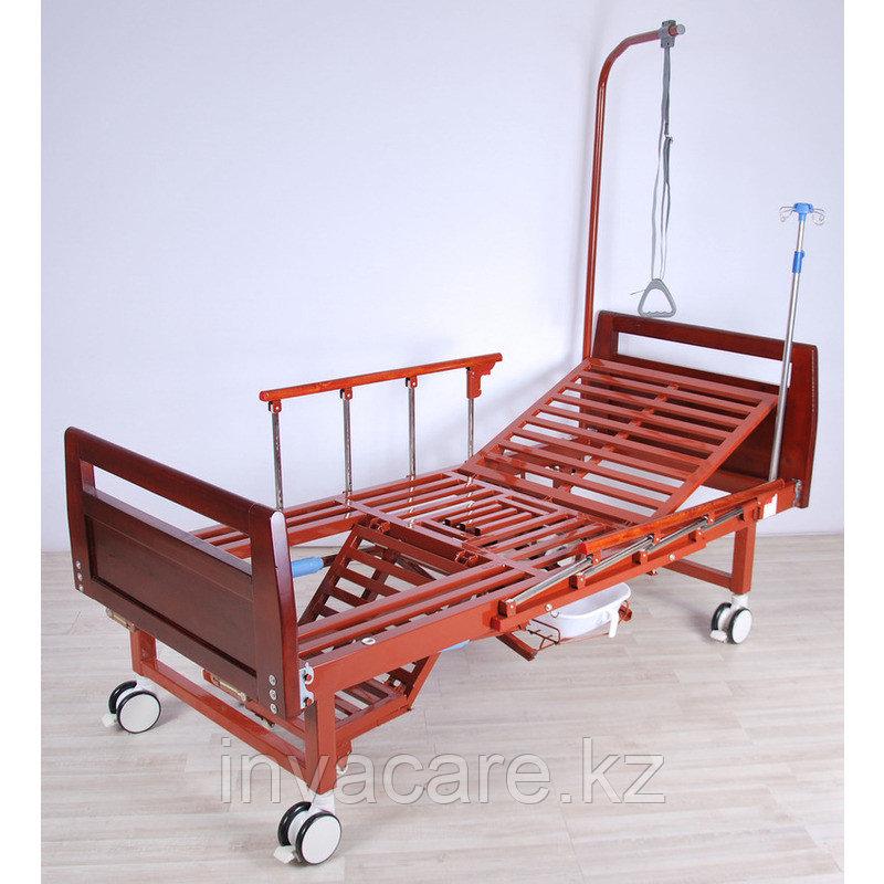 Кровать механическая YG -6 (MM-191ПН) с туалетным устройством и функцией «кардиокресло»