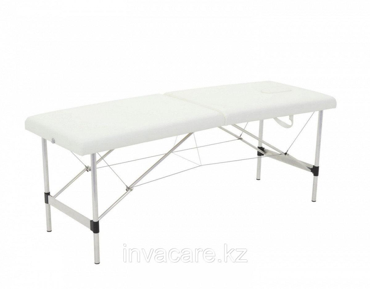 Стол массажный переносной на алюминиевой раме 2х секц. JFAL01-F