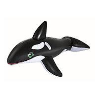 Надувная игрушка для катания верхом Касатка BESTWAY 41009 (203х102см, Black-White), фото 1