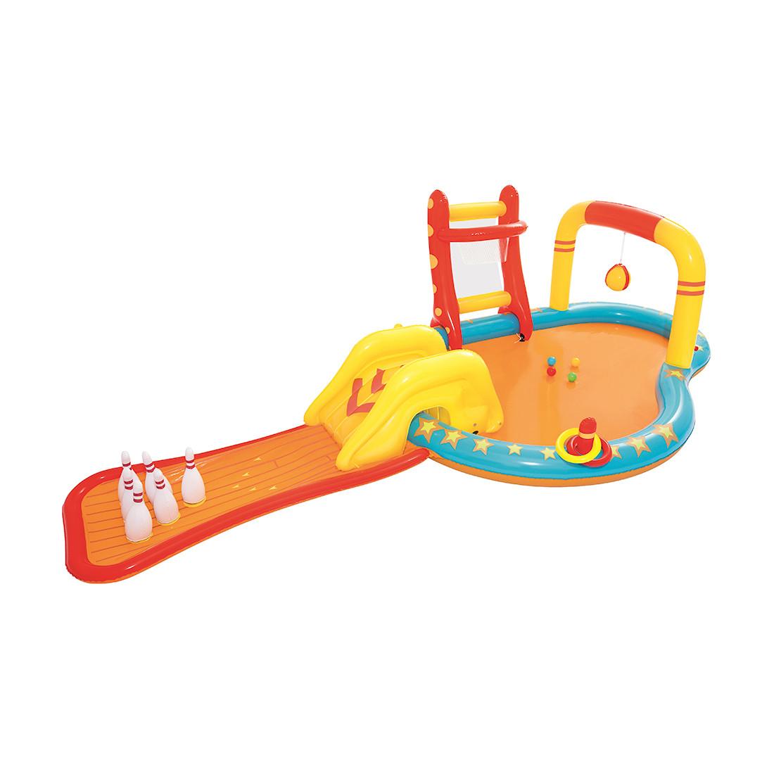 Детский надувной игровой бассейн BESTWAY Lil' Champ 2+ 53068 (435x213x117см, Винил, 314 л.)