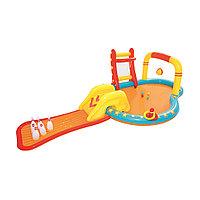 Детский надувной игровой бассейн BESTWAY Lil' Champ 2+ 53068 (435x213x117см, Винил, 314 л.), фото 1