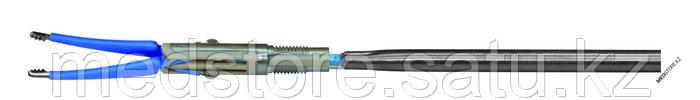 Биполярный инструмент (лапароскопический, манипуляционный, рабочая часть - пинцет изогнутый, длина 340 мм)