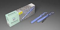 Скальпель Biolancet Budget №20 с защитным колпачком из углеродистой стали