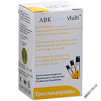 Тест полоски триглицеридов для ABK Care Multi №25