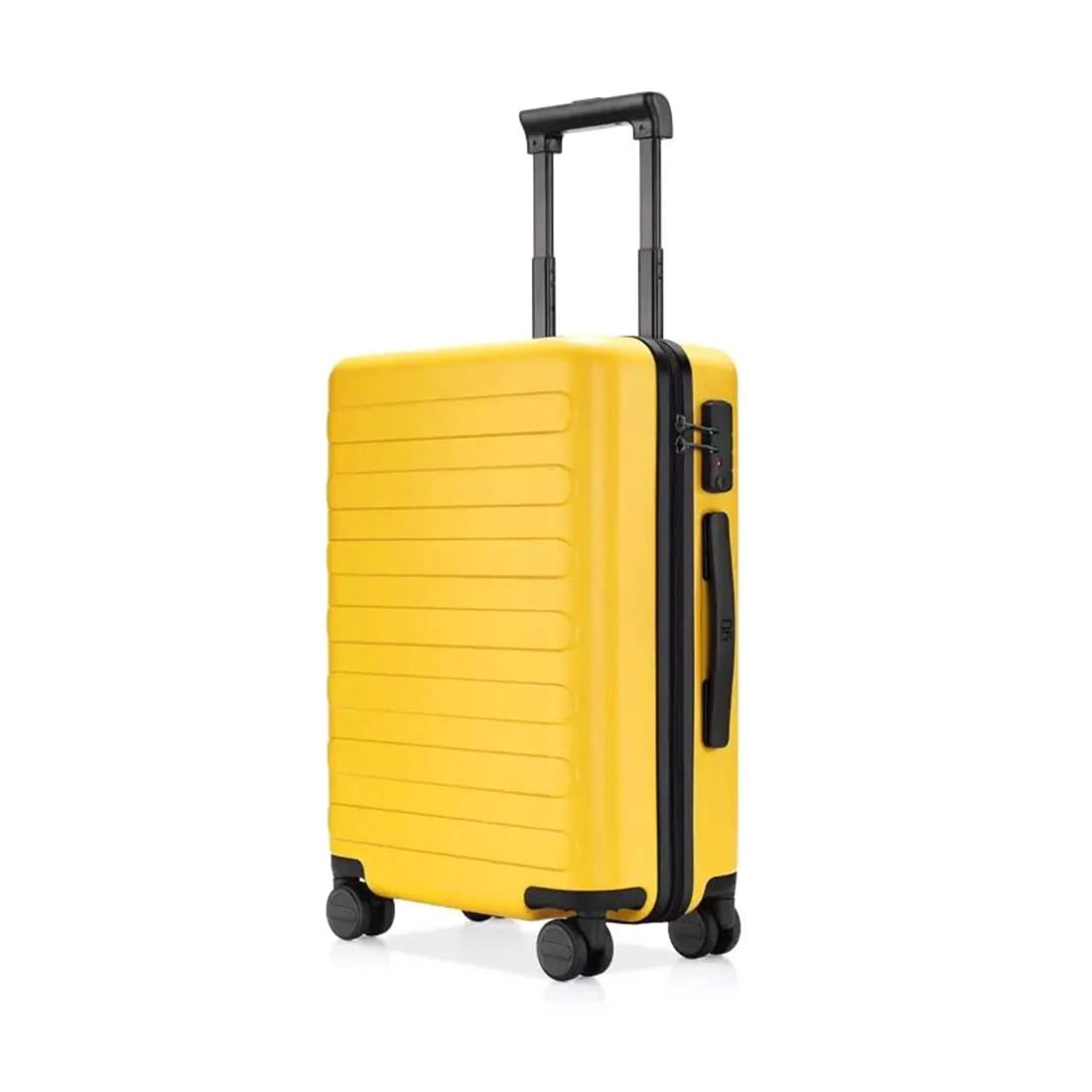 """Чемодан Xiaomi 90 Points Seven Bar Suitcase 20"""" (6970055346689, Yellow)"""