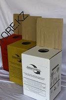 Коробка безопасной утилизации (КБУ) цвет желтый,объем 5 л.
