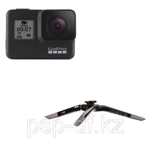 Экшн камера GoPro HERO7 Black + Штатив Joby GP 800
