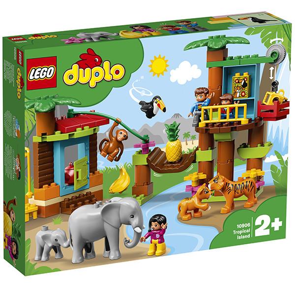 LEGO DUPLO 10906 Тропический остров, конструктор ЛЕГО - фото 2