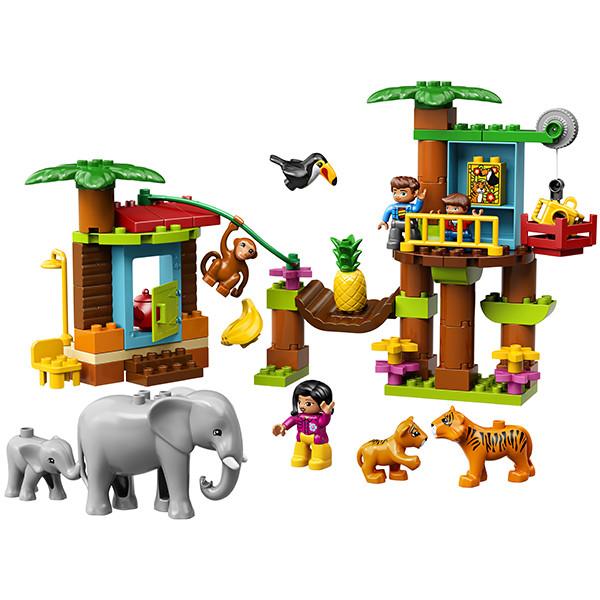 LEGO DUPLO 10906 Тропический остров, конструктор ЛЕГО - фото 3
