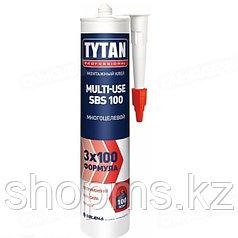 Клей Титан монтажный MULTI-USE SBS  бежевый310 мл