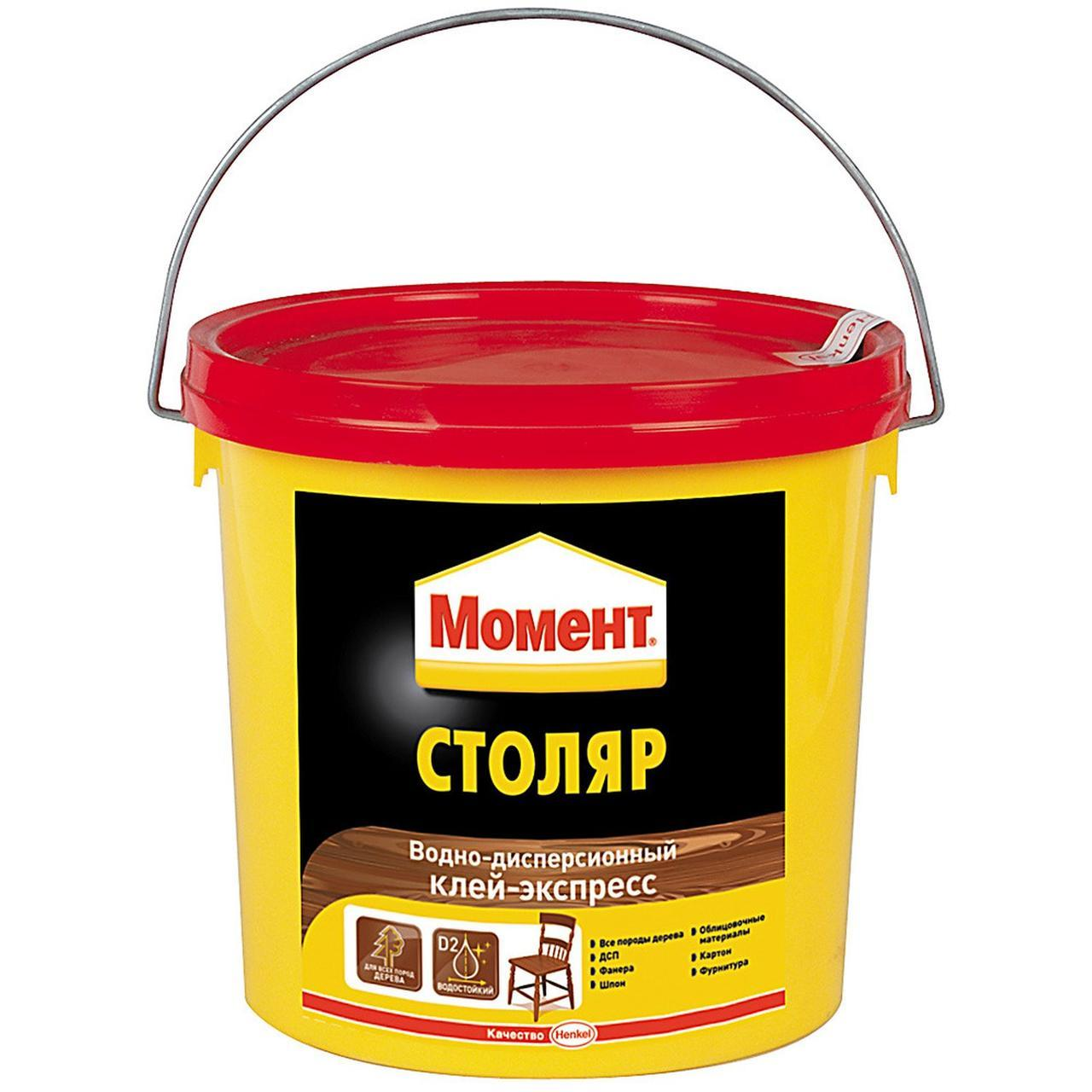 МОМЕНТ Столяр Водно-дисперсионный клей-экспресс для дерева 750 г