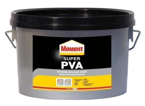 МОМЕНТ Столяр Super PVA D3 склеивает дерево 2 кг