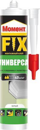 МОМЕНТ FIX Универсал Монтажный универсальный клей 380 г