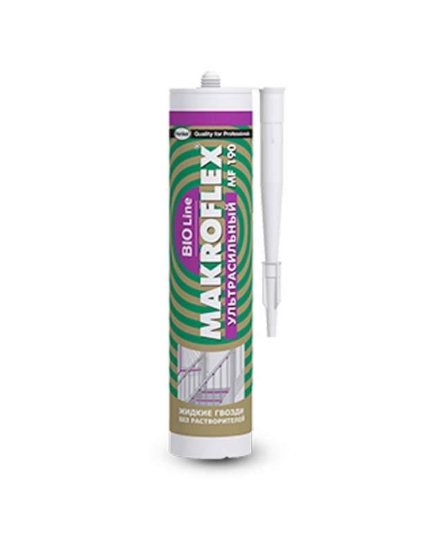 """MAKROFLEX Bio Line MF190 """"Ультрасильный"""" Монтажный клей с повышенной 400 г"""