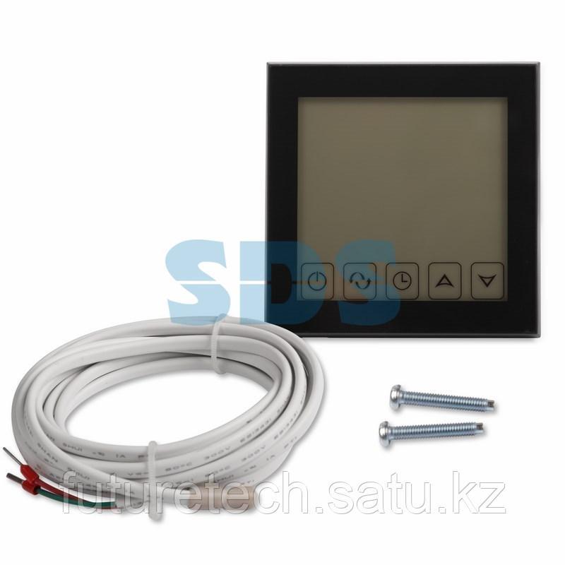 Терморегулятор сенсорный с автоматическим программированием REXANT, R200B, черный - фото 3