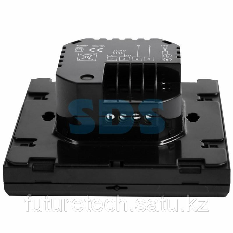 Терморегулятор сенсорный с автоматическим программированием REXANT, R200B, черный - фото 5