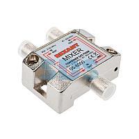 Диплексор (сумматор-делитель) SAT+TV в усиленном корпусе, REXANT