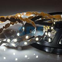 LED лента 12 В, 6 мм, S-образная плата, IP23, SMD 2835, 60 LED/m, цвет свечения белый (6000 К)