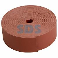 Тeрмоусаживаемая лента с клеевым слоем REXANT 25 мм х 0,8 мм, красная, ролик 5 м, ТЛ-0,8