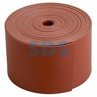 Термоусаживаемая лента с клеевым слоем REXANT 50 мм х 0,8 мм, красная, ролик 5 м, ТЛ-0,8