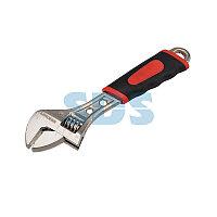 Разводной ключ REXANT 150 мм,  двухкомпонентная рукоятка